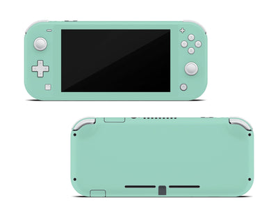 Sticky Bunny Shop Nintendo Switch Lite Mint Cute Solid Pastel Nintendo Switch Lite Skin | Choose Your Color
