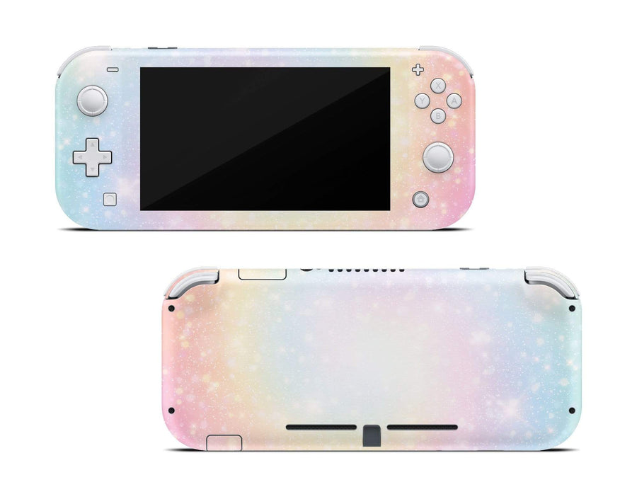 Sticky Bunny Shop Nintendo Switch Lite Pastel Swirl Nintendo Switch Lite Skin