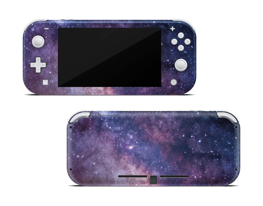 Sticky Bunny Shop Nintendo Switch Lite Purple Galaxy Nintendo Switch Lite Skin