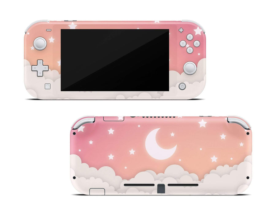 Sticky Bunny Shop Nintendo Switch Lite Warm Lunar Sky Nintendo Switch Lite Skin