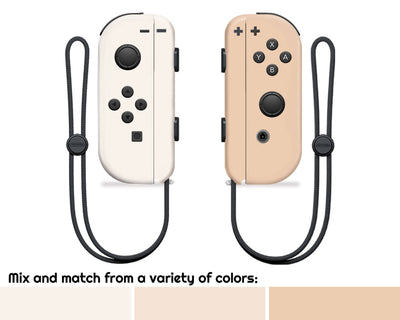 Sticky Bunny Shop Nintendo Switch Mix & Match - Creme Collection Nintendo Switch Joy-Con Skin