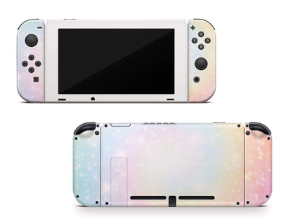 Sticky Bunny Shop Nintendo Switch Pastel Swirl Nintendo Switch Skin