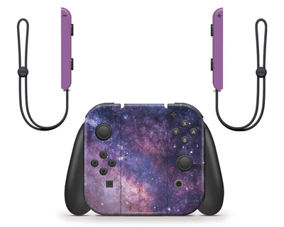 Sticky Bunny Shop Nintendo Switch Purple Galaxy Nintendo Switch Skin
