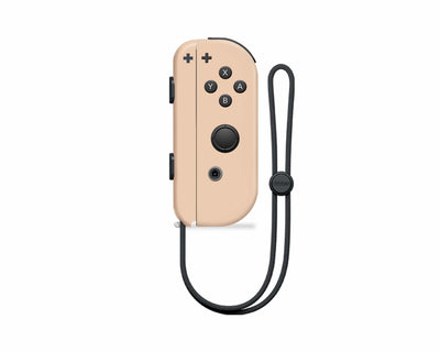 Sticky Bunny Shop Nintendo Switch Right Joy-Con / Coffee Creme Mix & Match - Creme Collection Nintendo Switch Joy-Con Skin