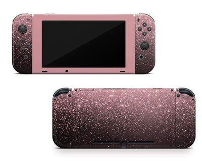 Sticky Bunny Shop Nintendo Switch Rose Simple Dots Printed Nintendo Switch Skin