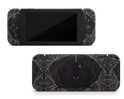 Sticky Bunny Shop Nintendo Switch Spooky Spider Nintendo Switch Skin