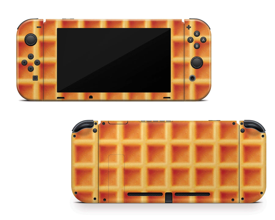 Sticky Bunny Shop Nintendo Switch Waffle Toaster Nintendo Switch Skin