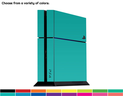Sticky Bunny Shop Playstation 4 Classic Solid Color Playstation 4 Skin | Choose Your Color