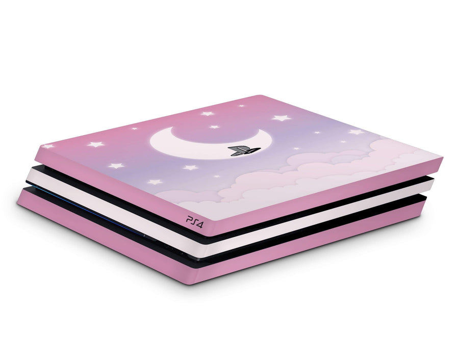 Sticky Bunny Shop Playstation 4 Cute Lunar Sky Playstation 4 Pro Skin