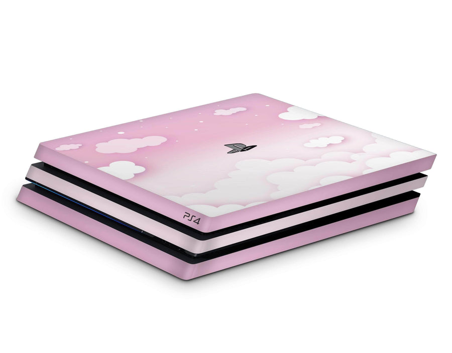 Sticky Bunny Shop Playstation 4 Pink Clouds In The Sky Playstation 4 Pro Skin