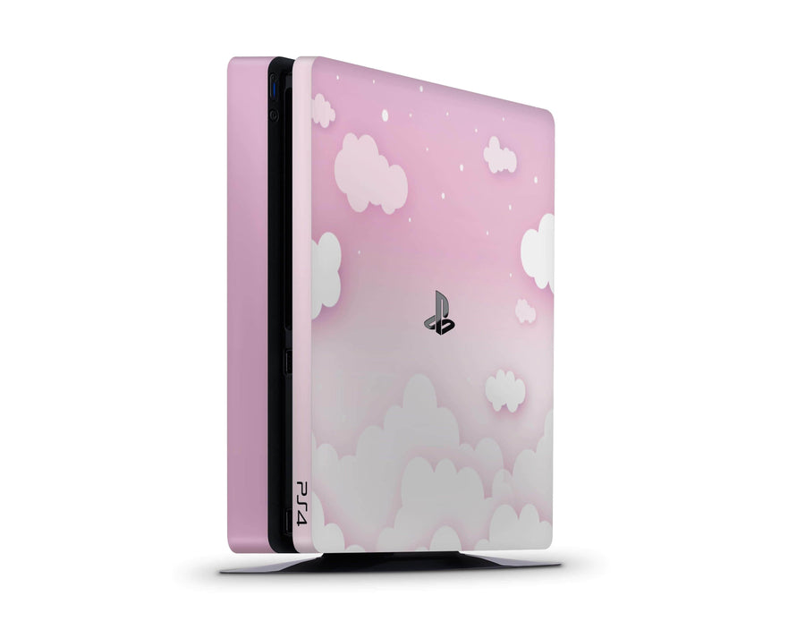 Sticky Bunny Shop Playstation 4 Pink Clouds In The Sky Playstation 4 Slim Skin
