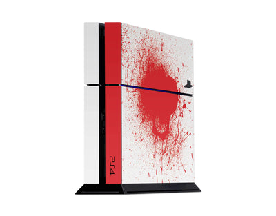 Sticky Bunny Shop Playstation 4 Playstation 4 Blood Spatter Playstation 4 Skin