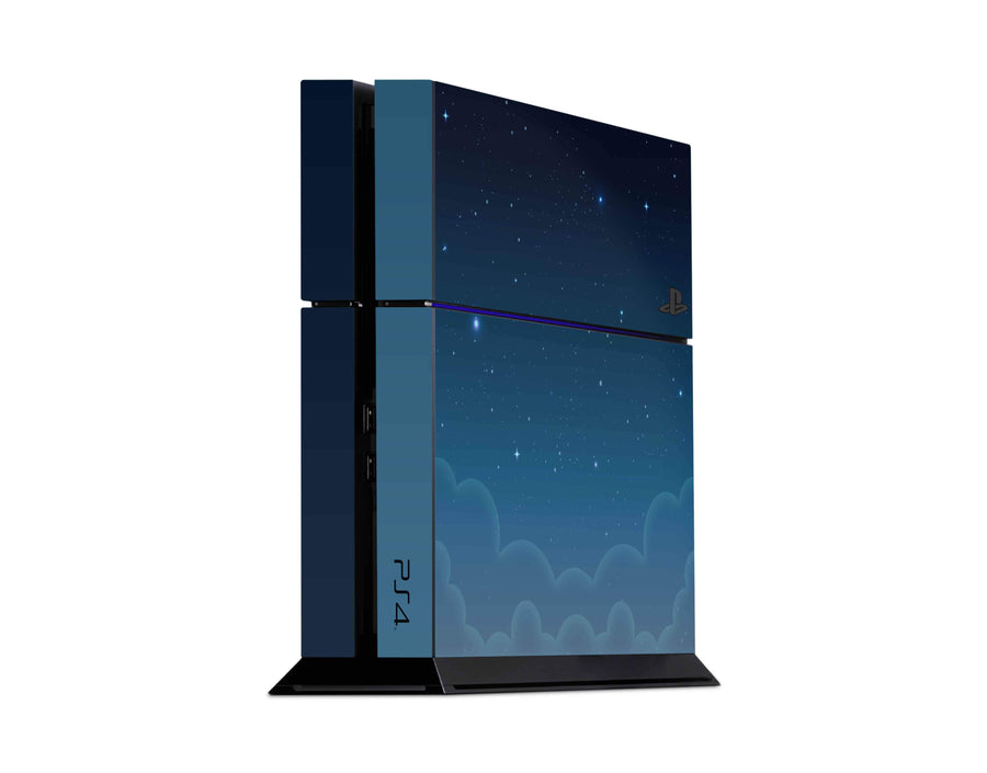 Sticky Bunny Shop Playstation 4 Playstation 4 Blue Night Sky Playstation 4 Skin