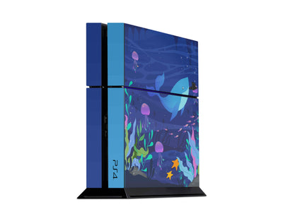 Sticky Bunny Shop Playstation 4 Playstation 4 Cute Aquatics Playstation 4 Skin