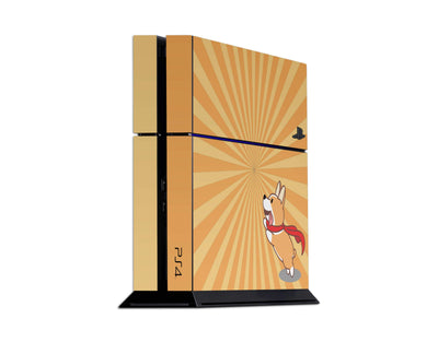 Sticky Bunny Shop Playstation 4 Playstation 4 Cute Corgi Pup Playstation 4 Skin