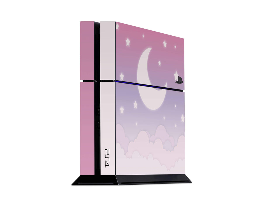 Sticky Bunny Shop Playstation 4 Playstation 4 Cute Lunar Sky Playstation 4 Skin