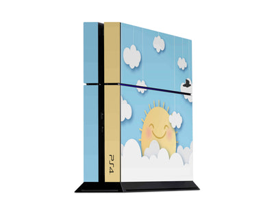 Sticky Bunny Shop Playstation 4 Playstation 4 Cute Sun In The Clouds Playstation 4 Skin