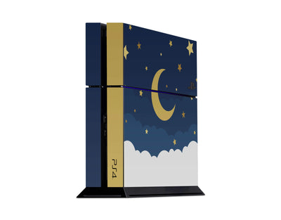 Sticky Bunny Shop Playstation 4 Playstation 4 Dark Lunar Sky Playstation 4 Skin
