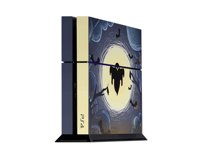 Sticky Bunny Shop Playstation 4 Playstation 4 Ghost Of The Night Playstation 4 Skin