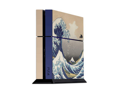 Sticky Bunny Shop Playstation 4 Playstation 4 Great Wave Off Kanagawa By Hokusai Playstation 4 Skin