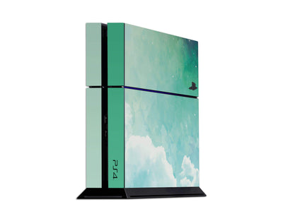 Sticky Bunny Shop Playstation 4 Playstation 4 Green Sky Clouds Playstation 4 Skin