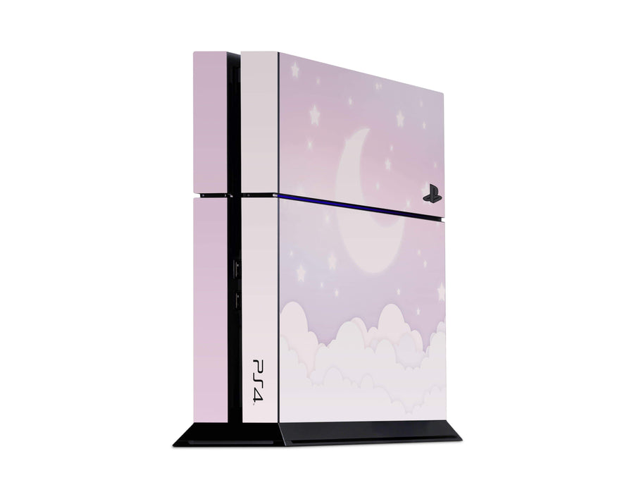 Sticky Bunny Shop Playstation 4 Lavender Lunar Sky Playstation 4 Skin