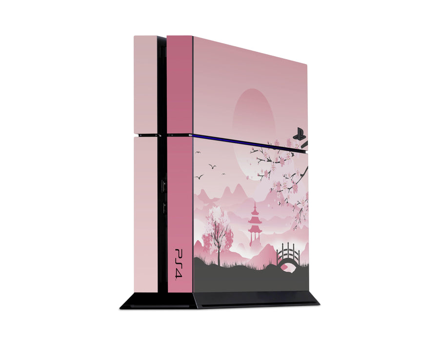Sticky Bunny Shop Playstation 4 Playstation 4 Pink Sakura Playstation 4 Skin