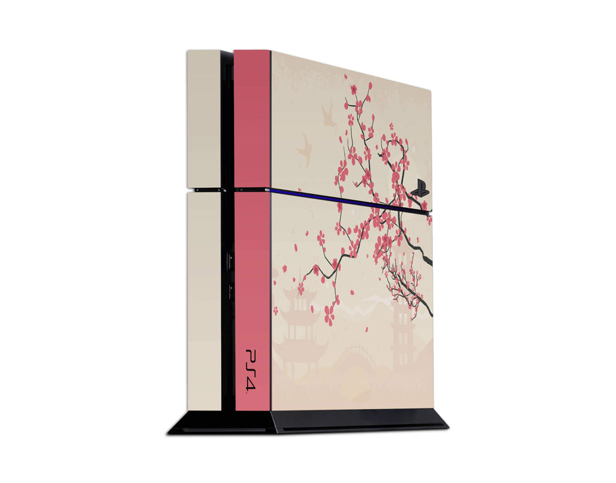 Sticky Bunny Shop Playstation 4 Playstation 4 Sakura Blossoms Playstation 4 Skin