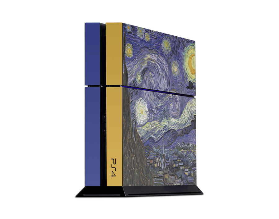 Sticky Bunny Shop Playstation 4 Playstation 4 Starry Night By Van Gogh Playstation 4 Skin