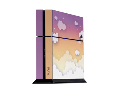 Sticky Bunny Shop Playstation 4 Playstation 4 Sunset Clouds In The Sky Playstation 4 Skin