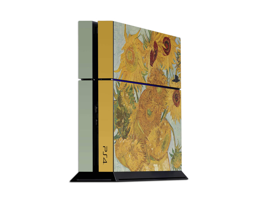 Sticky Bunny Shop Playstation 4 Playstation 4 Twelve Sunflowers By Van Gogh Playstation 4 Skin