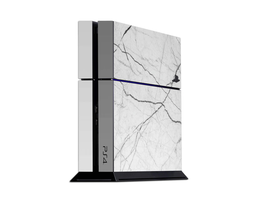 Sticky Bunny Shop Playstation 4 Playstation 4 White Marble Playstation 4 Skin