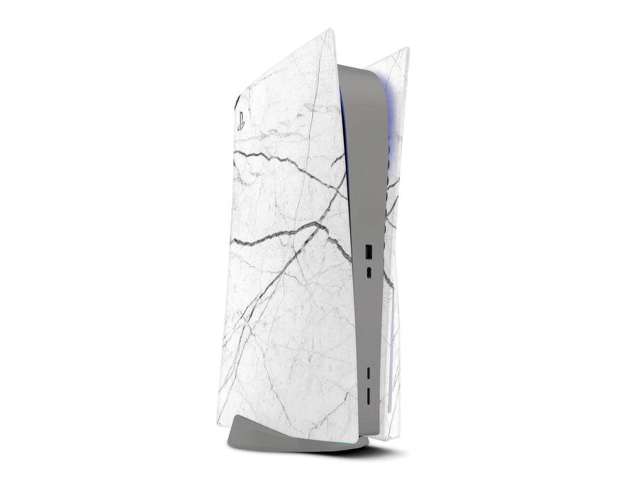 Sticky Bunny Shop Playstation 5 White Marble PS5 Skin