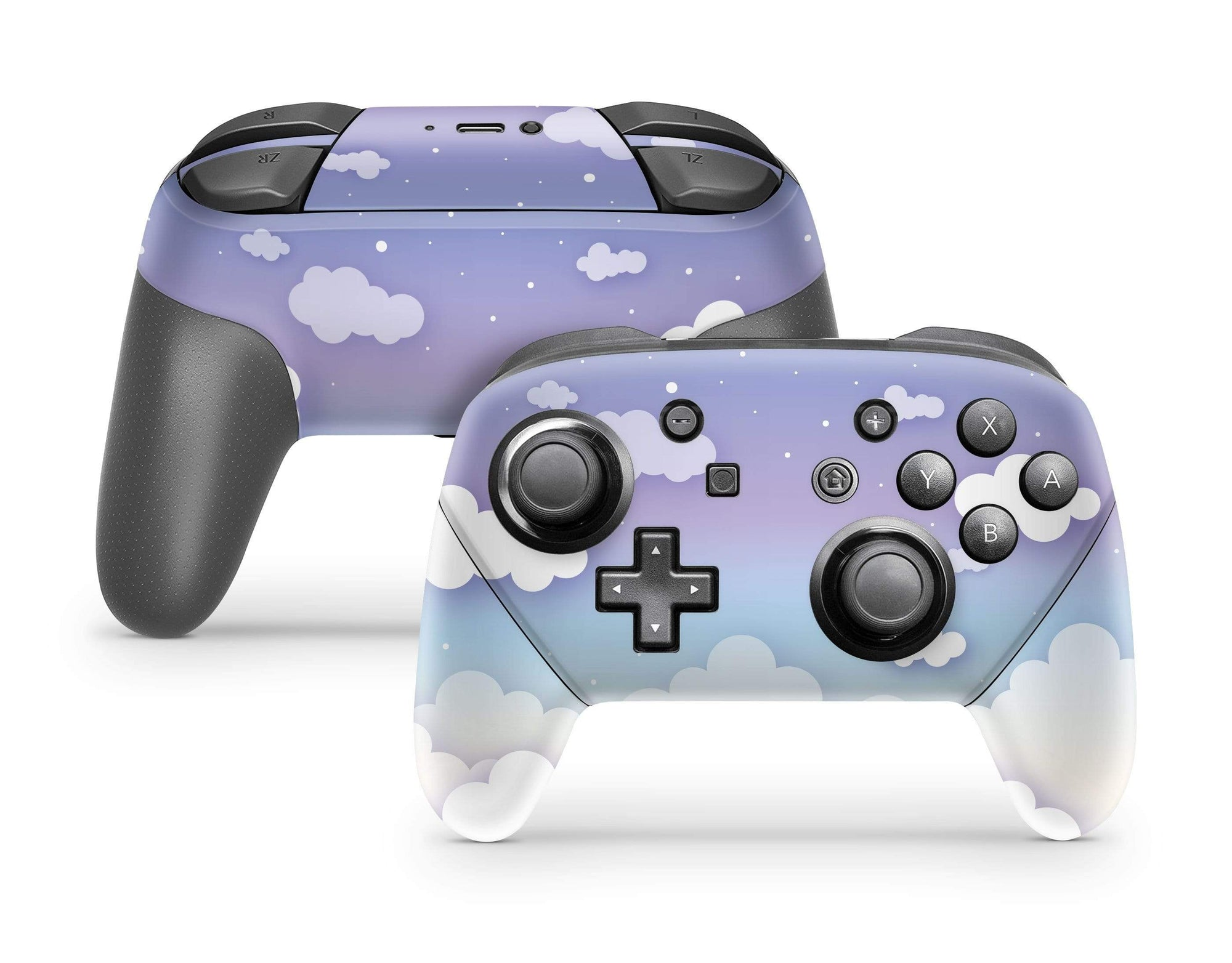Clouds In The Sky Nintendo Switch Pro Controller Skin Stickybunny