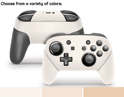 Sticky Bunny Shop Pro Controller Creme Collection Nintendo Switch Pro Controller Skin