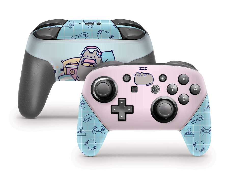 Sticky Bunny Shop Pro Controller Gaming Pusheen Nintendo Switch Pro Controller Skin
