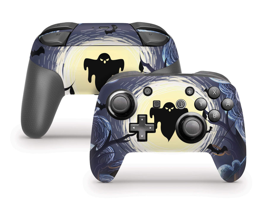 Sticky Bunny Shop Pro Controller Ghost Of The Night Nintendo Switch Pro Controller Skin