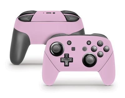 Sticky Bunny Shop Pro Controller Lilac Cute Solid Pastel Nintendo Switch Pro Controller Skin | Choose Your Color