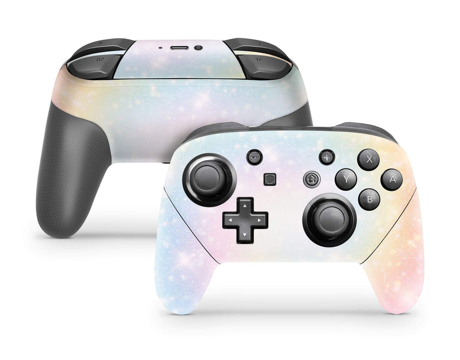 Sticky Bunny Shop Pro Controller Pastel Swirl Pro Controller Skin