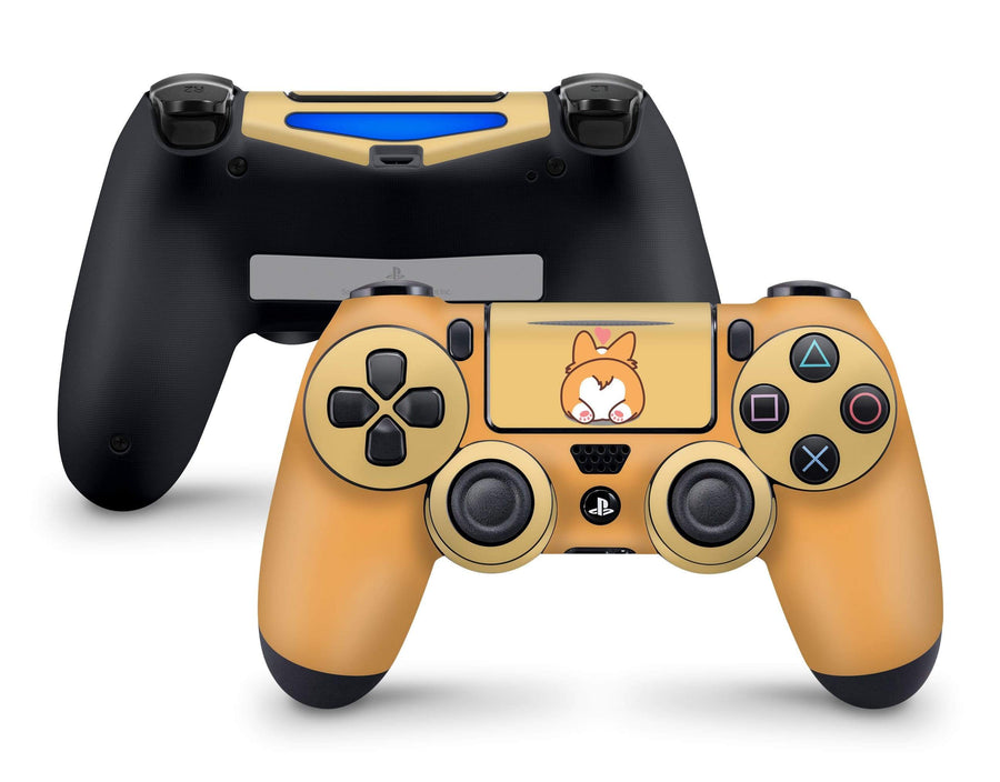 Sticky Bunny Shop PS4 Controller Cute Corgi Pup PS4 Controller Skin