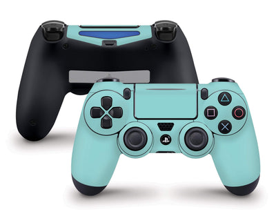 Sticky Bunny Shop PS4 Controller Light Teal Cute Solid Pastel PS4 Controller Skin | Choose Your Color