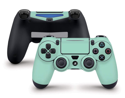 Sticky Bunny Shop PS4 Controller Mint Cute Solid Pastel PS4 Controller Skin | Choose Your Color