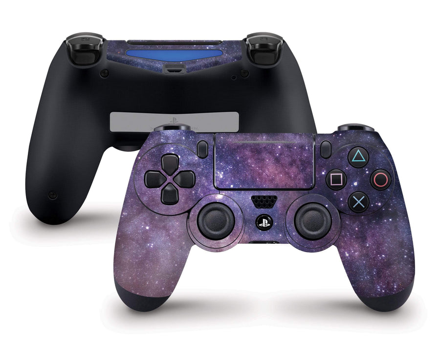Sticky Bunny Shop PS4 Controller Purple Galaxy PS4 Controller Skin