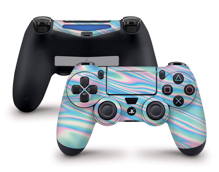 Wavy Pastel PS4 Controller Skin