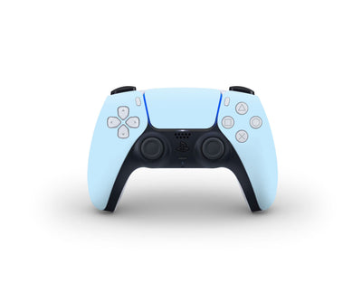 Sticky Bunny Shop PS5 Controller Baby Blue Cute Solid Pastel PS5 Controller Skin | Choose Your Color