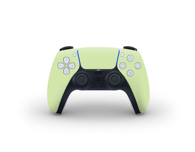 Sticky Bunny Shop PS5 Controller Baby Green Cute Solid Pastel PS5 Controller Skin | Choose Your Color