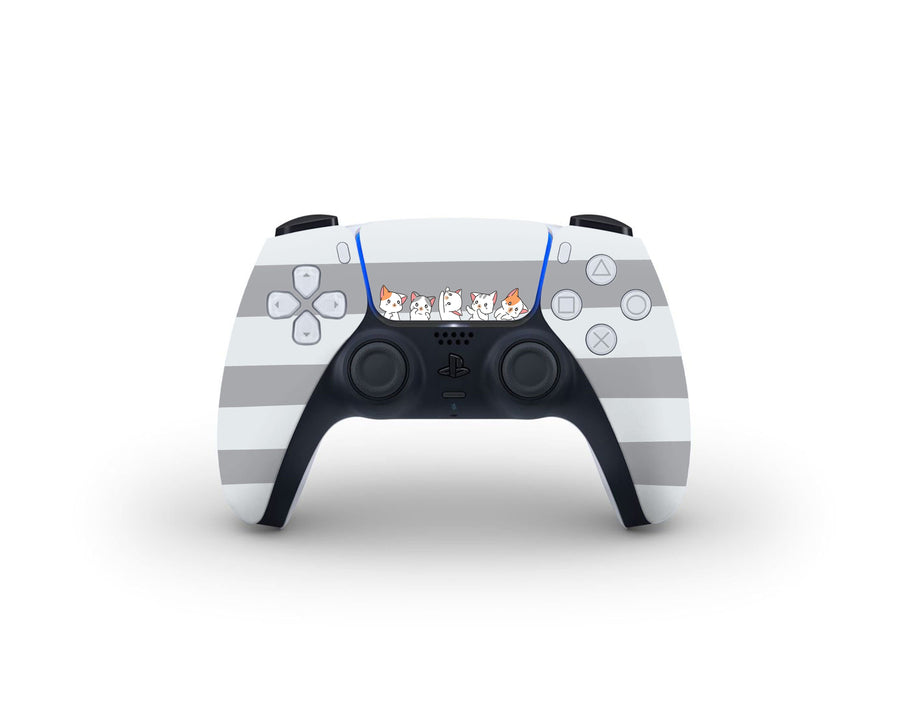 Sticky Bunny Shop PS5 Controller Cute Kittens PS5 Controller Skin