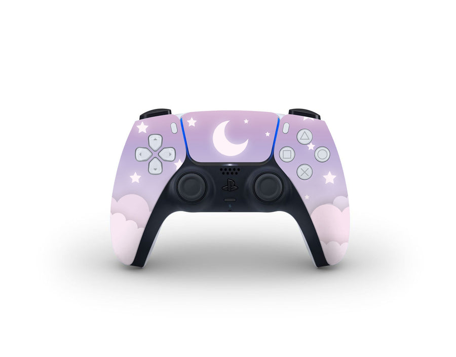 Sticky Bunny Shop PS5 Controller Cute Lunar Sky PS5 Controller Skin