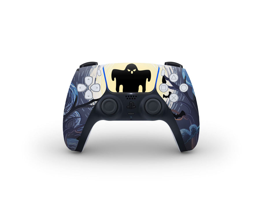 Sticky Bunny Shop PS5 Controller Ghost Of The Night PS5 Controller Skin