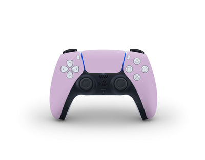Sticky Bunny Shop PS5 Controller Lavender Cute Solid Pastel PS5 Controller Skin | Choose Your Color